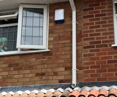 Domestic Intruder Alarm Installation – Perton