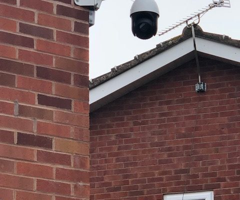 Domestic CCTV Installation – Perton