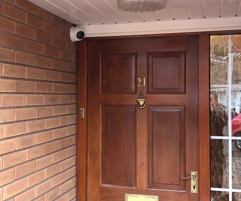 Domestic CCTV & Intruder Alarm Installation – Codsall